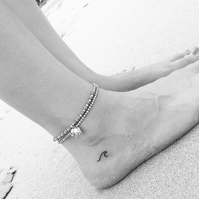 Lets Sea Waves take me Away Tattoo Style