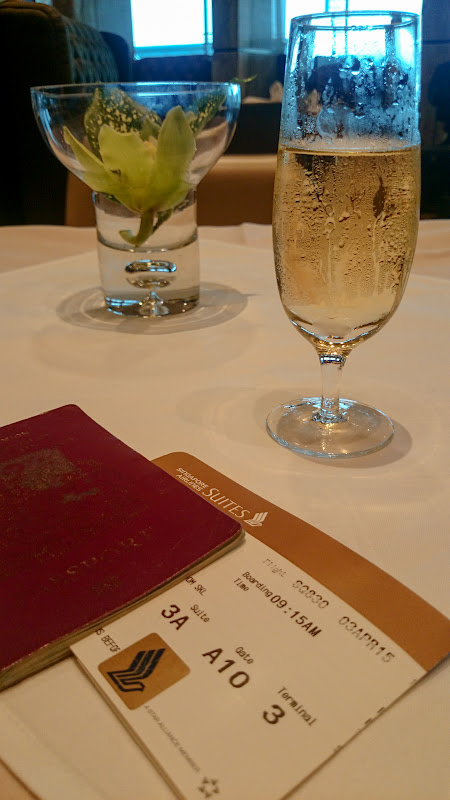 SIN%252520PVG 17 - REVIEW - Singapore Airlines : The Private Room First Class Lounge [Breakfast Service], SIN T3