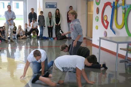 Schulprojekte NMS-Lofer: English Project Party 3ab 2017_18