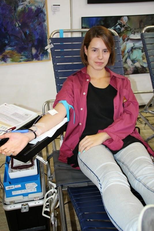 Pilar i donació a la Marató de Donació de sang  24-09-14 - IMG_4521.JPG