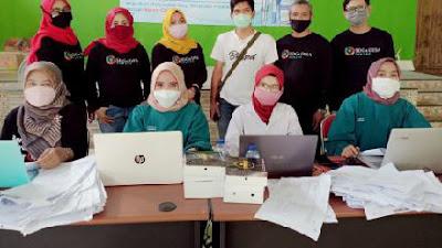 Desa Dawung di Magelang Gelar Vaksinasi Covid-19 di Gedung Serbaguna