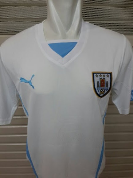 Jual Jersey Uruguay Away Piala Dunia 2014