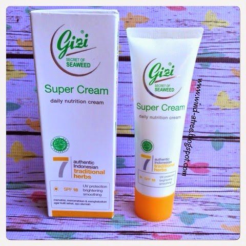 [Review] Gizi Super Cream Daily Nutrition Cream Series