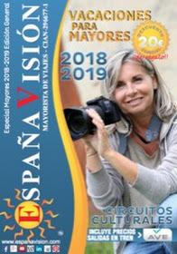 Catálogo de viajes mayores 2019 España visión edicion general