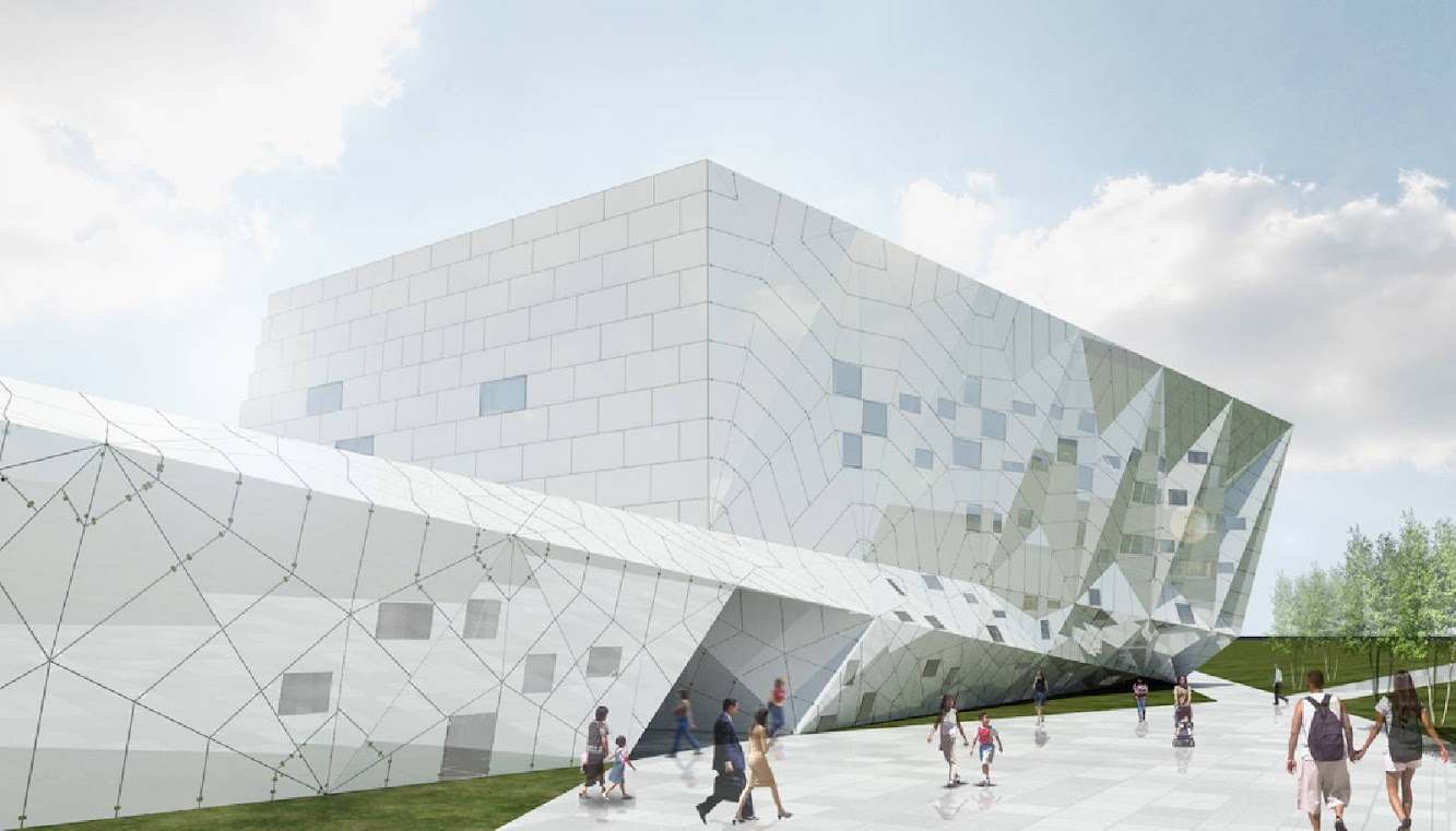 07 Datong Library by Preston Scott Cohen