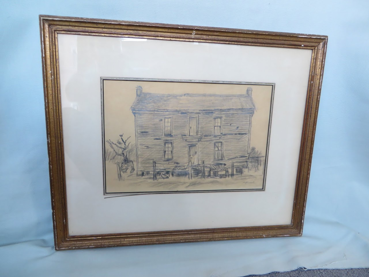 Alexander Brook House Drawing