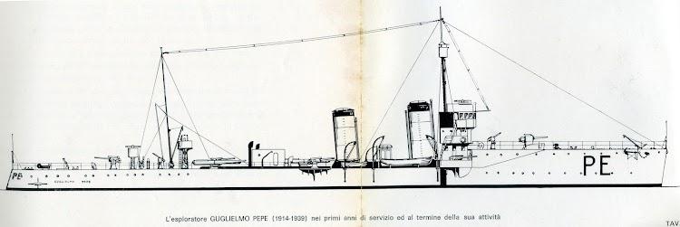 El cacciatorpedinieri G. PEPE al final de sus dias en la Regia Marina. Del libro de referencia..jpg