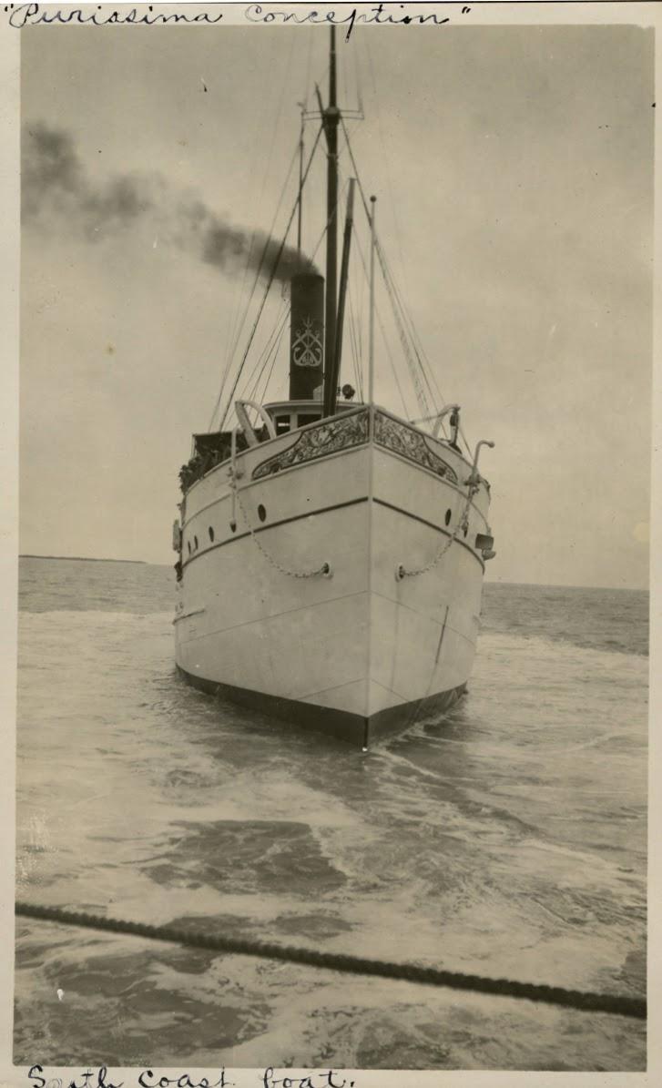 Manzanillo. 1908. Vista de proa del PURISIMA. Del Album of Manzanillo. University of Miami.tif