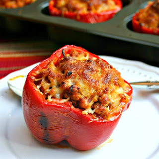 Stuffed Red Peppers Recipe