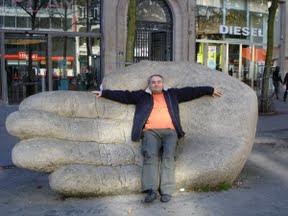 Paweł in good hand Antwerp 2009