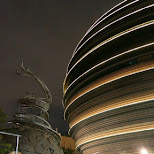 the unique Death Star mall, core pacific mall in Taipei in Taipei, T'ai-pei county, Taiwan