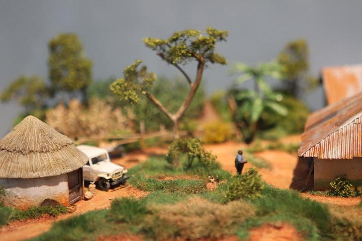 Modell einer Farm