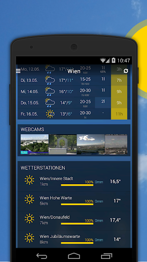 bergfex/Weather App - Forcast Radar Rain & Webcams - screenshot