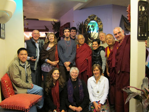 FPMT Board of Directors and friends in California February 2011