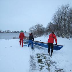 Sidste tur før søen lukkede