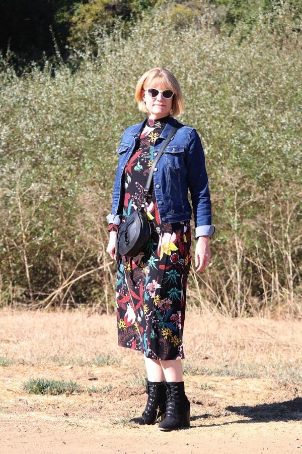 H M Floral Dress 1