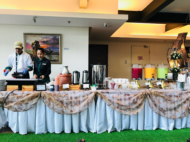 Grand Sierra Pines Hotel in Baguio City - breakfast buffet
