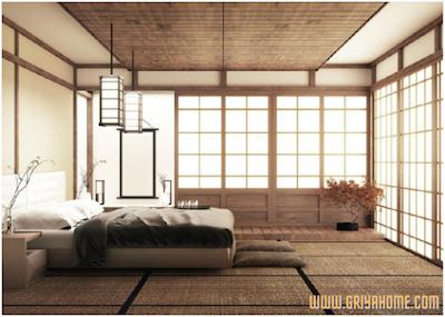 Model Desain Kamar Tidur Ala Jepang