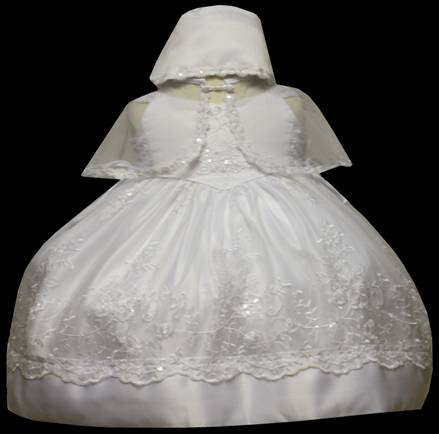 Angel baby girl Christening Baptism Dress Gowns outfit /XS/S/M/L/XL/0-3M/3-6M/6-12M/12-18M/18-24M/XSMALL/SMALL/MEDIUM/LARGE/XL/#607 at Sears.com