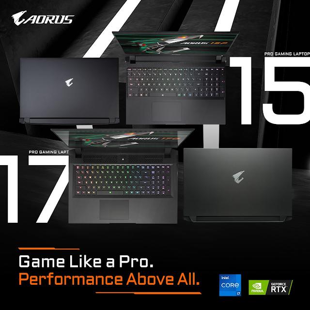 New AORUS AERO Creator and AORUS Gaming Laptop Series with Intel Core 11th Gen Processor - 4K, 360Hz Display | TechNeg
