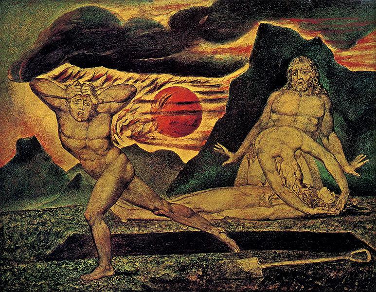 The Murder Of Abel By William Blake, William Blake