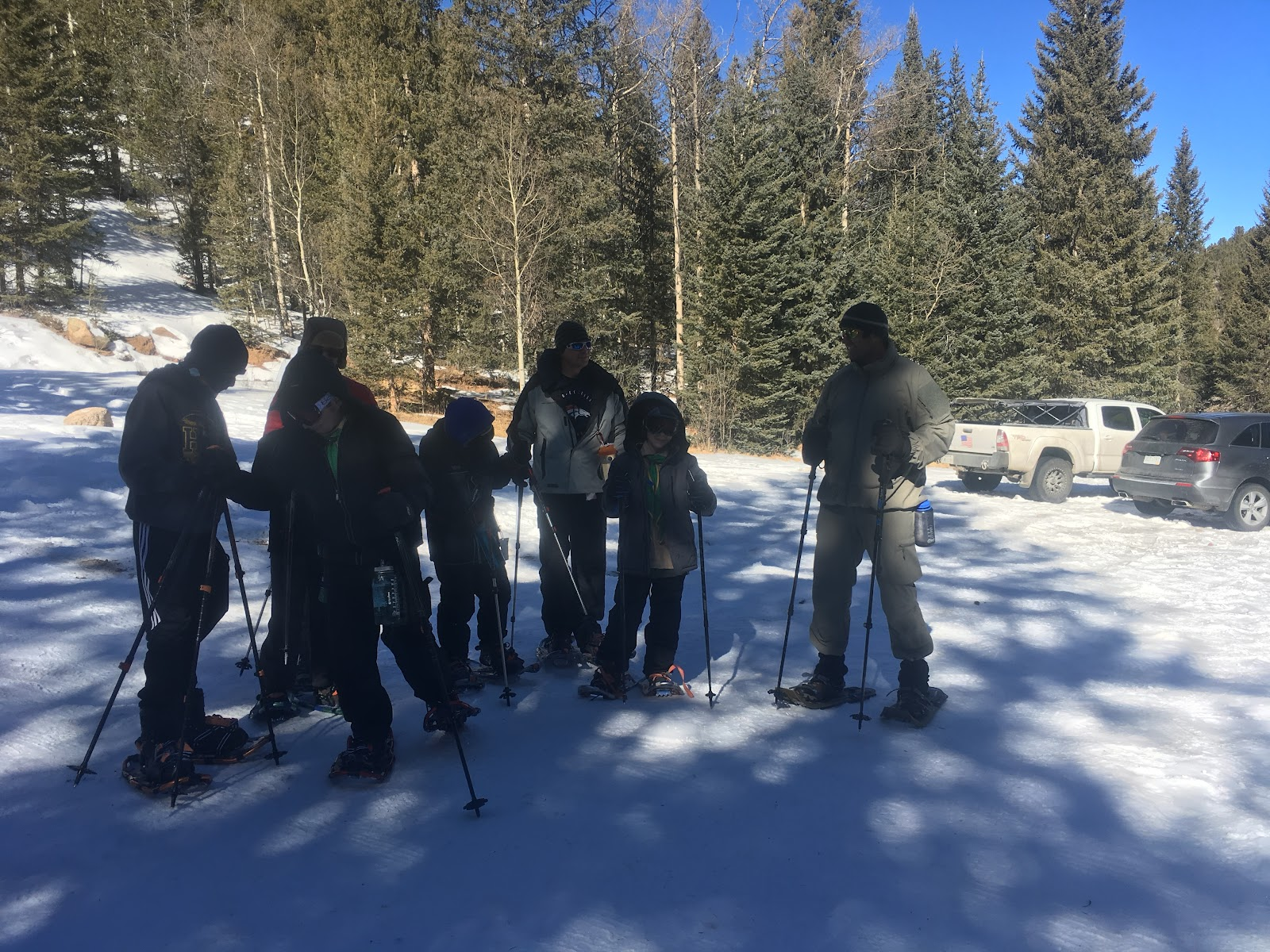 Snowshoe Campout March 2018