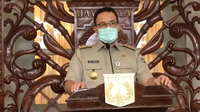 Anies Siapkan Rp3 Triliun untuk Penanganan Covid-19 DKI Jakarta