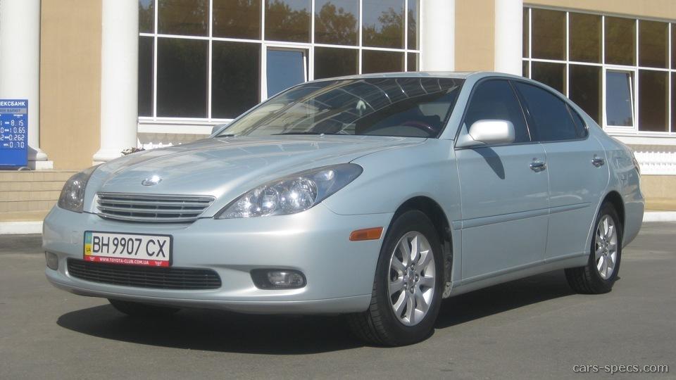 2003 lexus es 300 sedan specifications pictures prices. Black Bedroom Furniture Sets. Home Design Ideas