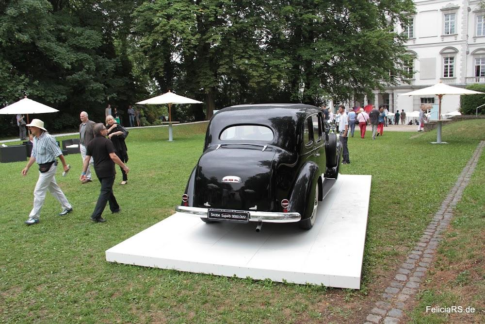Škoda Superb 3000 von 1939 mit oben liegenden Ventilen