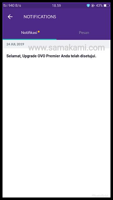 upgrade ovo premier online