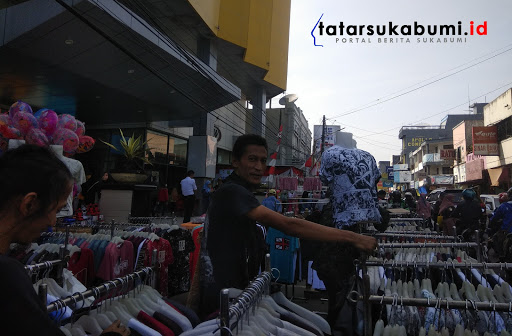 Kondisi Terkini Jalan Ahmad Yani Sukabumi Jelang Malam Takbir