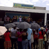 At Gabs bus rank, Edutainment re Safe Male Circumcision