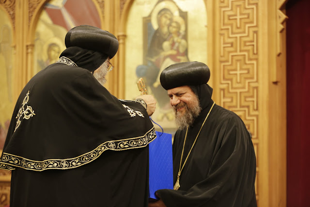 His Holiness Pope Tawadros II visit to St. Mark LA - _09A9196.JPG