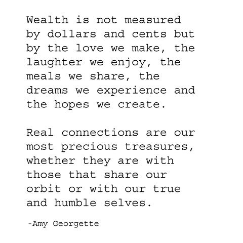 wealth -- amy georgette