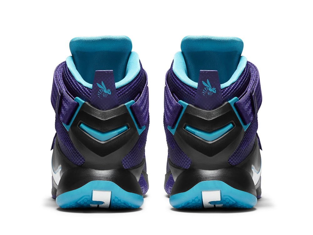 the latest 738fe 02317 Available Now Nike LeBron Soldier 9 Summit Lake Hornets ...