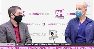 A hora noticias Chacabuco Ignacio Gastaldi