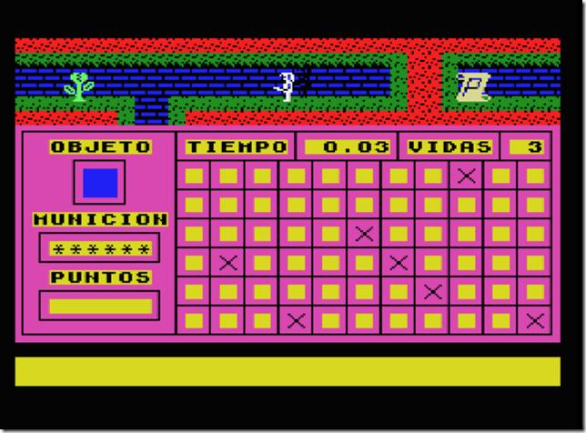 Lord Watson pantalla de juego
