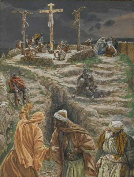 My God, My God, Why Hast Thou Forsaken Me - by James Tissot (1836-1902)