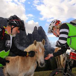 Bike Diana-Erkundungstour am Schlern :-)