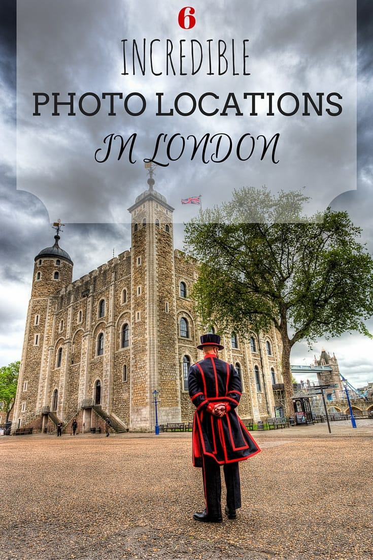 Tips for the best photography Locations in London, UK when visiting on a shorter trip such as on a weekend or just for a few days, with further links and advice for a prolonged trip