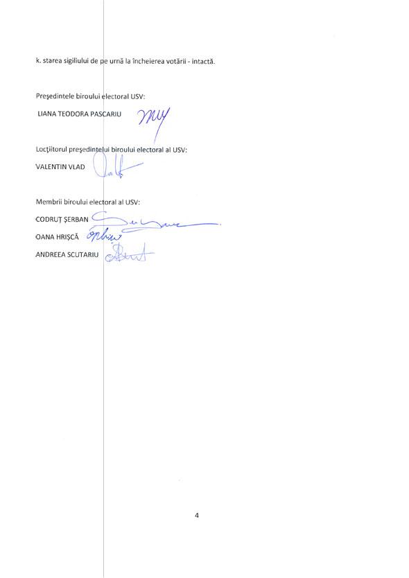Rezultate alegeri rector USV Universitatea Ştefan cel Mare Suceava
