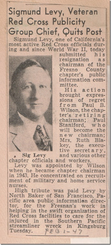 Page 2 Sig Levy Quits Post Feb 1 1947