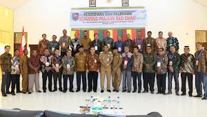 Camat Se Aceh Timur Ikut Diklat Kepamongprajaan