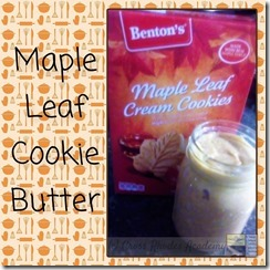 Maple Leaf Cookie Butter