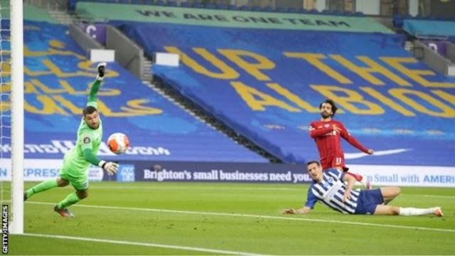 Goals: Brighton 1 – 3 Liverpool (Watch Here)
