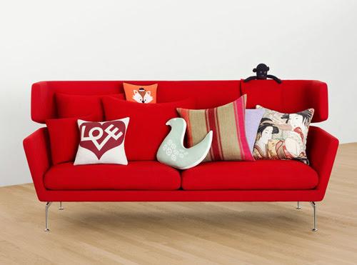Mẫu ghế sofa đôi cách điệu