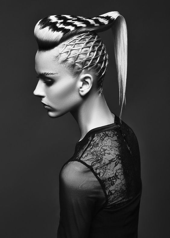 Mohawk Hairstyles ideas: Braided mohawk is the best 2018 5