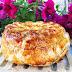 Camembert en hojaldre relleno de trufa y avellanas