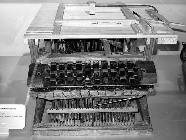 Az első modell - ma a Bécsi Műszaki Múzeumban látható