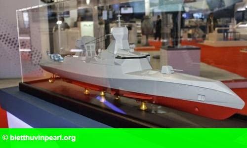 Hình 1: Pháp tiết lộ tính năng tàu hộ tống tên lửa muốn bán cho Việt Nam